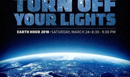 Turn off Your Lights Earth Hour 2018