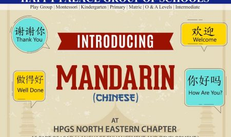 Introducing Mandarin as part of LEAD at HPGS