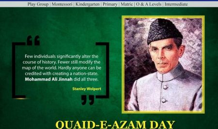 Quaid-E-Azam Day