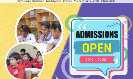 Admissions Open For The New Session 2019/2020