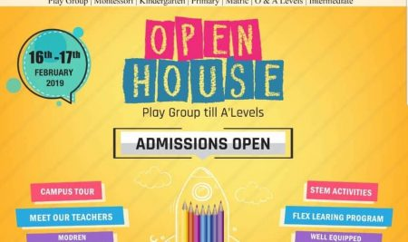 Open House Admissions Open