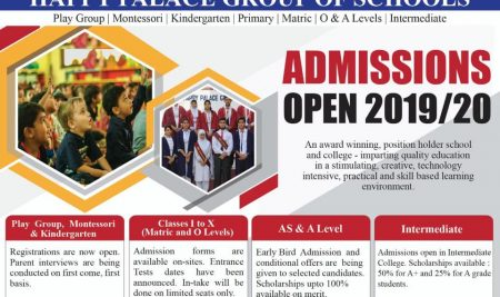 OPEN ADMISSIONS 2019