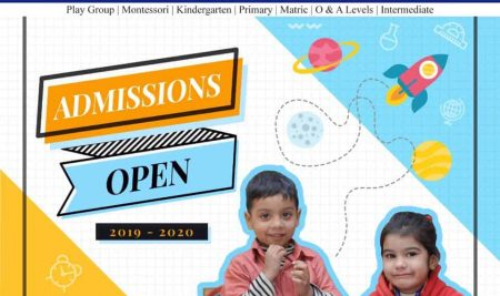 Admissions Open 2019-2020