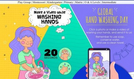 Record Your Hand Washing Routine