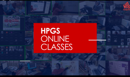 HPGS conducting online classes successfully
