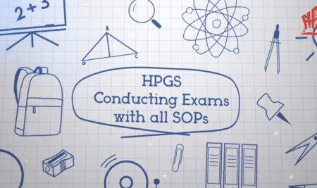 Examinations were conducted at all campuses of HPGS following necessary SOPs