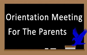 Orientation Meeting For The Parents