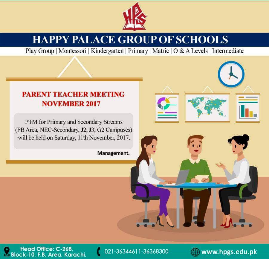Parent Teacher Meeting 2017