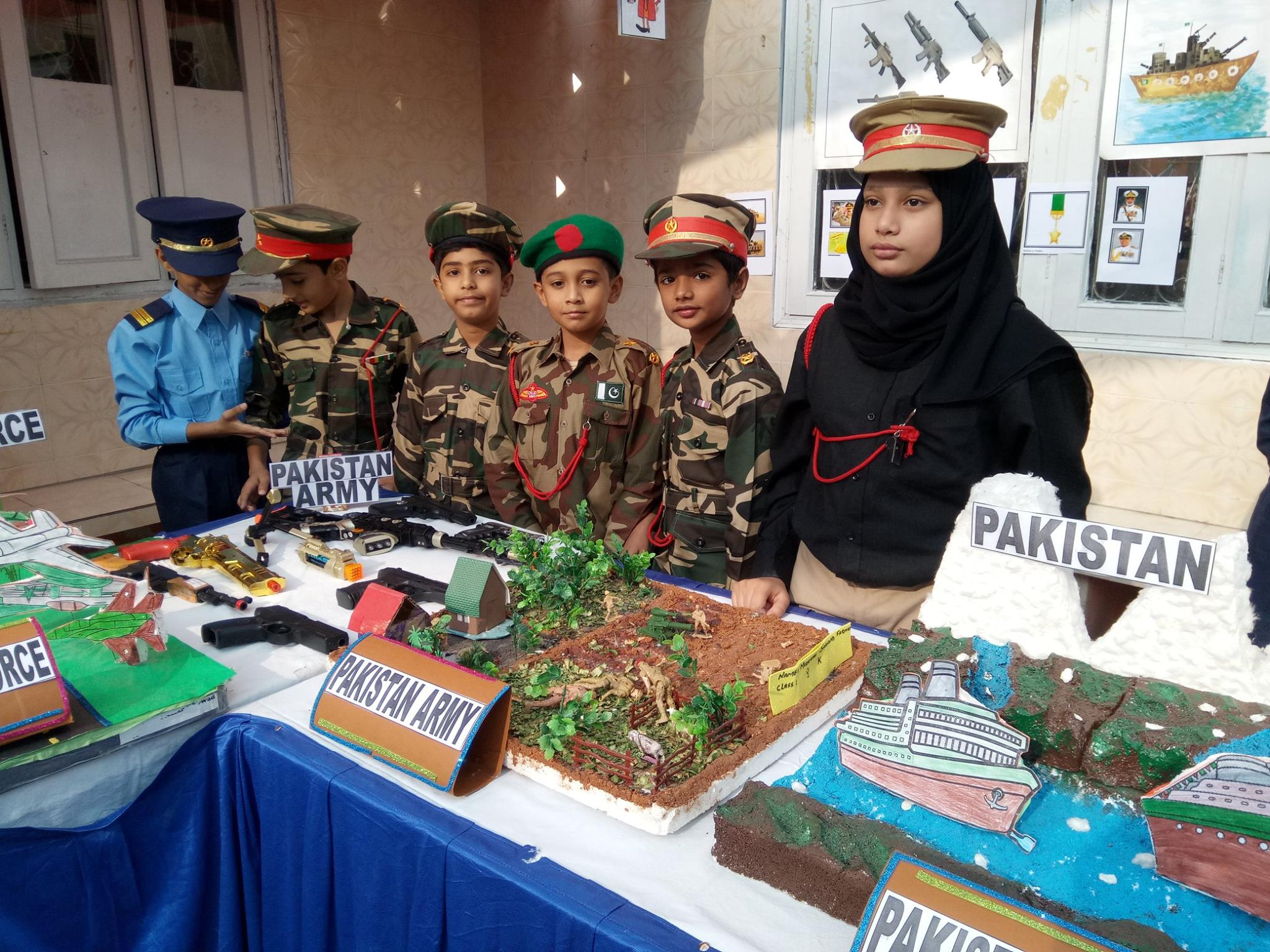 PTM held in primary and secondary campuses – Happy Palace