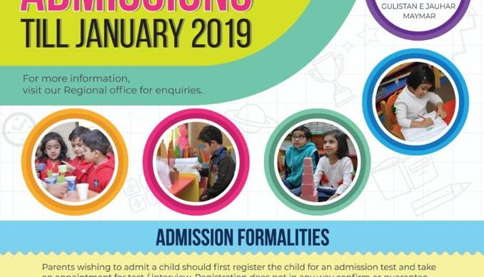 Early Bird Admissions