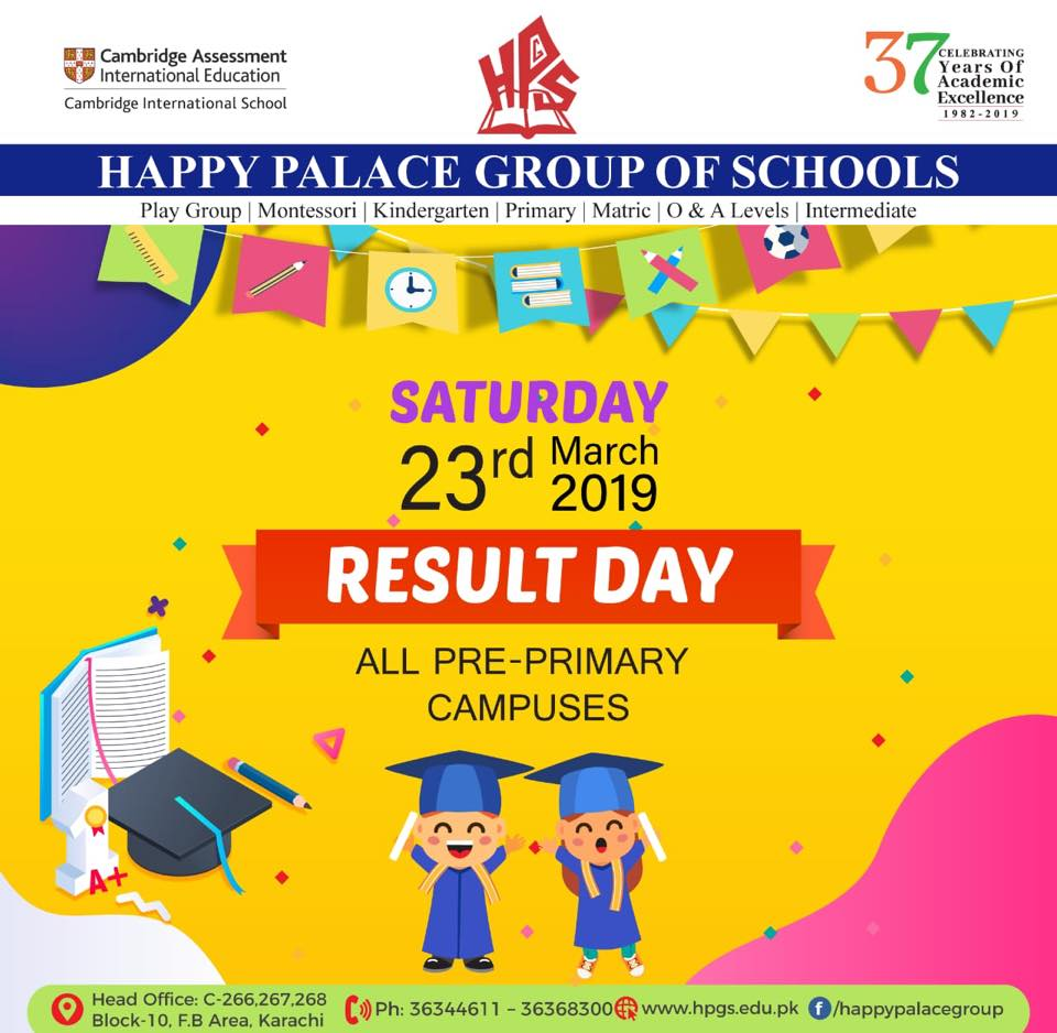 RESULT DAY – Happy Palace Grammar School