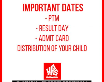 PTM / Result Day / Admit Card Distribution