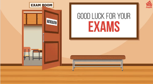 Best Of Luck For Your Exams