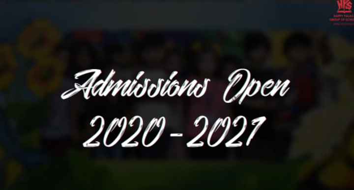 Admissions Open 2020-2021