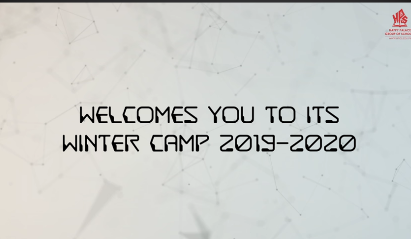 Winter Camp for Pre-Primary