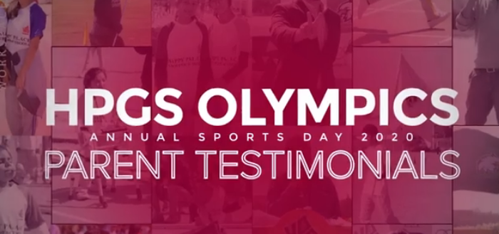 Parent Testimonials in HPGS Olympic Annual Sports Day 2020