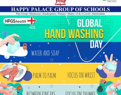 HPGS- Global Hand Washing Day